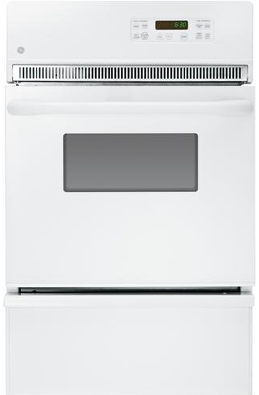 """GE® 24"""" Gas Built In Oven-White-JGRP20WEJWW"""