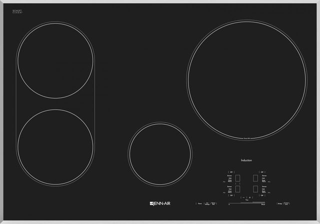 """JennAir® 30"""" Induction Cooktop-Stainless Steel-JIC4430XS"""