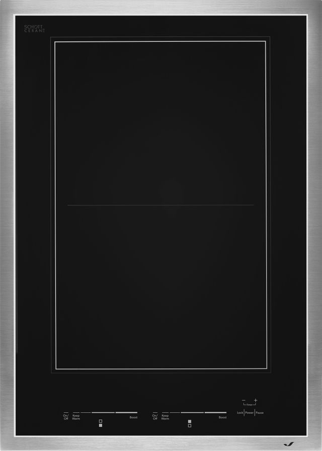 """JennAir® 15"""" Induction Cooktop-Stainless Steel-JIC4715GS"""