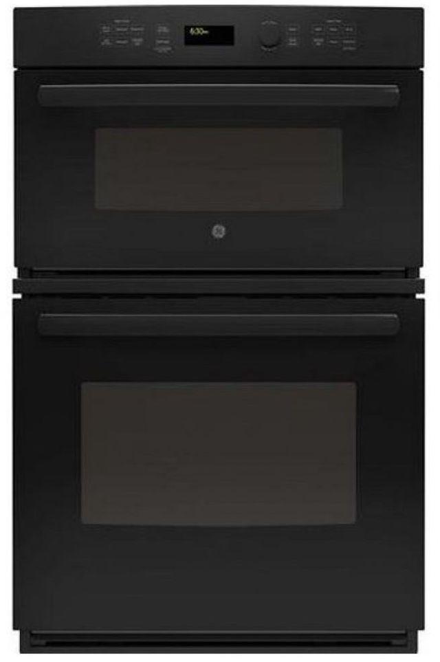 "GE® 26.75"" Black Electric Built In Combination Microwave/Oven-JK3800DHBB"
