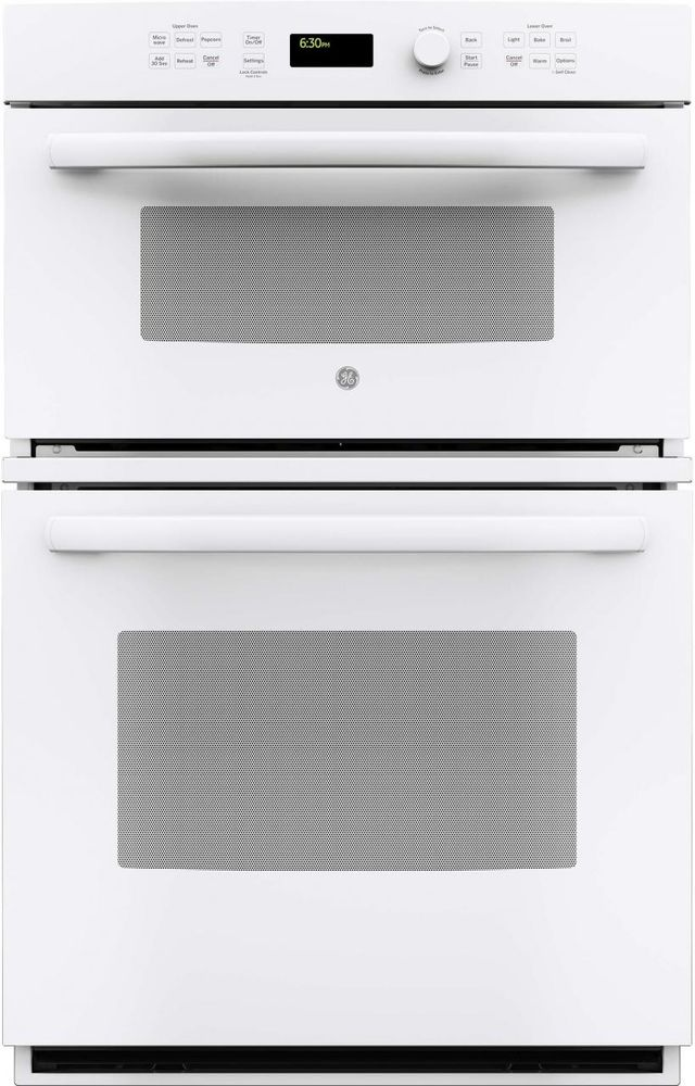 """GE® 26.75"""" White Electric Built In Combination Microwave/Oven-JK3800DHWW"""