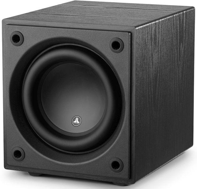 """JL Audio Dominion™ 8"""" Powered Subwoofer Speaker-Black Ash-D108-ASH-D108-ASH"""