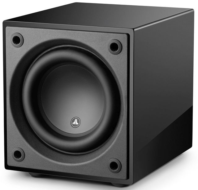"JL Audio Dominion™ 8"" Powered Subwoofer Speaker-Black Gloss-D108-GLOSS-D108-GLOSS"
