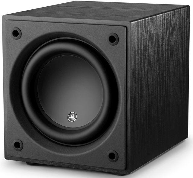 "JL Audio Dominion™ 10"" Powered Subwoofer Speaker-Black Ash-D110-ASH"