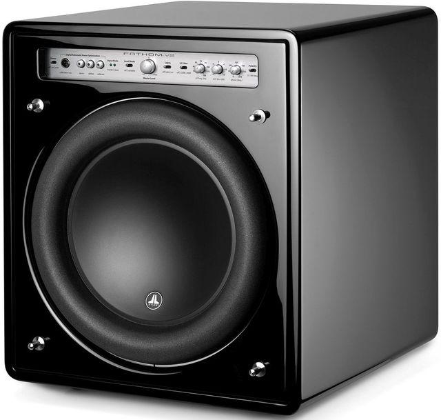 "JL Audio® Fathom® V2 12"" Powered Subwoofer-Black Gloss-F112V2-GLOSS"