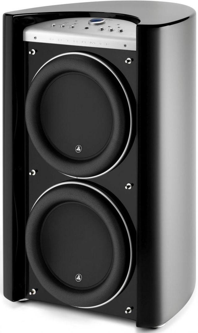 "JL Audio® Gotham® V2 13.5"" Dual Powered Subwoofer-Black Gloss-G213V2-GLOSS"