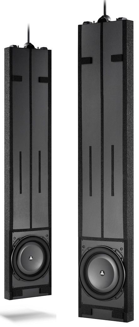 """JL Audio® Fathom® Dual 13.5"""" In-Wall v2 Powered Subwoofer System-IWSv2-SYS-213"""