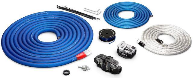 JL Audio® Premium 1/0 AWG 12 V Power Two Amplifier Connection Kit-XD-PCS1/0-2B