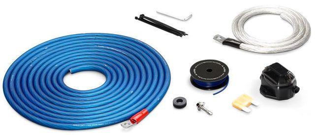 JL Audio® Premium 4 AWG 12 V Power Single Amplifier Connection Kit-XD-PCS4-1B