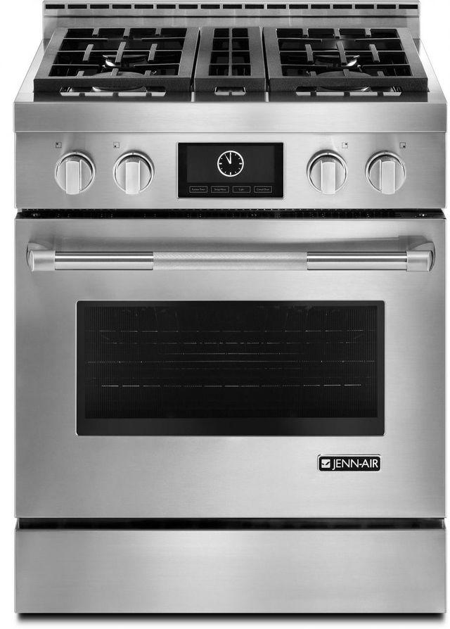"JennAir® Pro-Style® 30"" Freestanding LP Range-Stainless Steel-JLRP430WP"