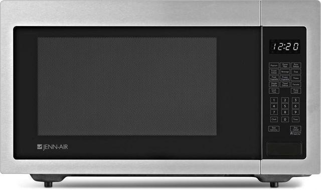 JennAir® 1.6 cu. ft. Built-In or Countertop Microwave Oven-Stainless Steel-JMC1116AS