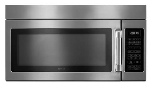 JennAir® Over The Range Microwave Oven-Pro-Style Stainless-JMV9186WP