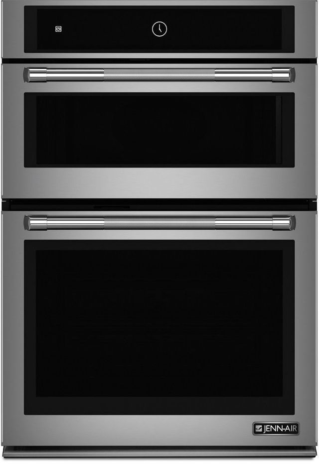 """JennAir® 30"""" Stainless Steel Electric Oven/Micro Oven-JMW2430DP"""