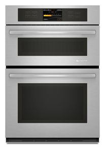 """JennAir® 30"""" Electric Oven/Microwave Combo Built In-Stainless Steel-JMW3430WS"""