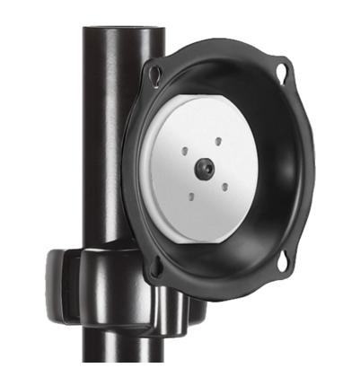 Chief® Professional AV Solutions Black Medium Pivot Tilt Pole Mount-JPP210B