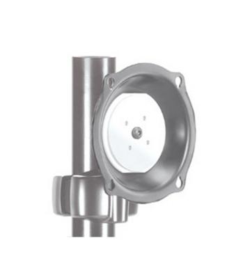 Chief® Professional AV Solutions Silver Medium Pivot Tilt Pole Mount-JPP210S