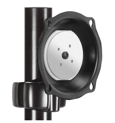 Chief® Professional AV Solutions Black Medium Pivot Tilt Pole Mount-JPPUB