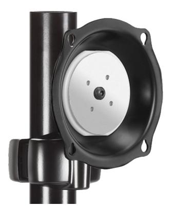 Chief® Professional AV Solutions Black Medium Pivot Tilt Pole Mount-JPPVB
