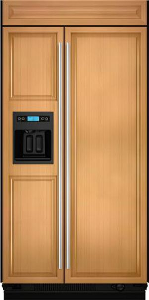 JennAir® Built In Side-by-Side Refrigerator-Panel Ready-JS42CXDUDB