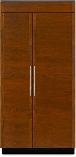 JennAir® 24.6 Cu. Ft. Built In Side-by-Side Refrigerator-Panel Ready-JS42NXFXDW