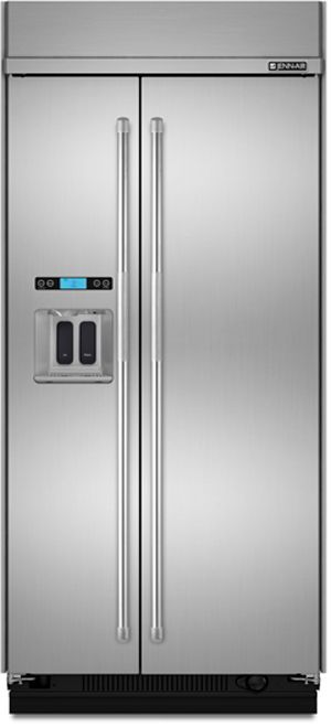 JennAir® 25.3 Cu. Ft. Built In Side-by-Side Refrigerator-Stainless Steel-JS42PPDUDB