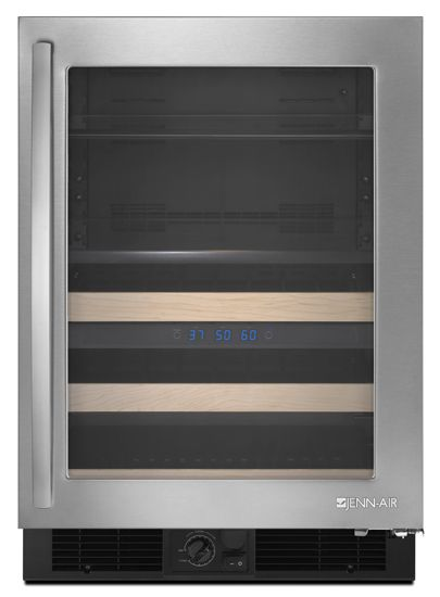 JennAir® 5.4 Cu. Ft. Under The Counter Beverage Center-Stainless Steel-JUB248RWRS