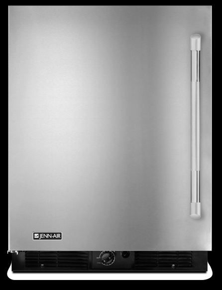 JennAir® 5.7 Cu. Ft. Under The Counter Refrigerator-Stainless Steel-JUR248LYEP
