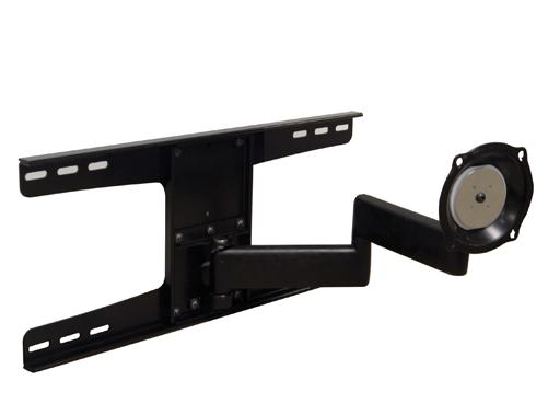 Chief® Black Manufacturing Medium Flat Panel Swing Arm Wall Mount-JWDSKVS