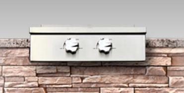 Kalamazoo Outdoor Gourmet Built In Double Cooktop-Stainless Steel-K-CKTPDB-BI-NG