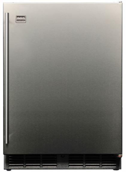 Kalamazoo Outdoor Gourmet 5.3 Cu. Ft Outdoor Refrigerator-Stainless Steel-K-HP24RO-1R