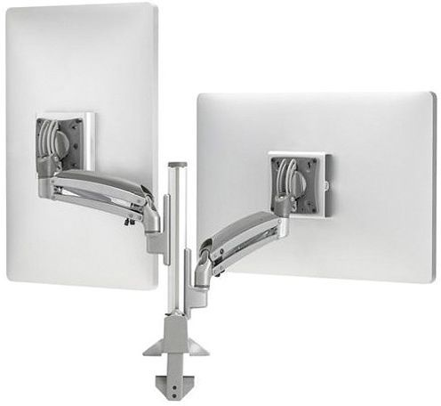 Chief® Kontour™ Silver K1C Dynamic Height-Adjustable Column Mount-K1C210SXF1