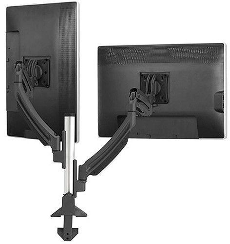 Chief® Black Kontour™ K1C 2 Monitors Dynamic Column Mount-K1C220B