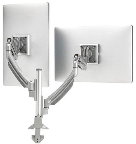 Chief® Kontour™ Silver K1C Dynamic Height-Adjustable Column Mount-K1C220SXF1