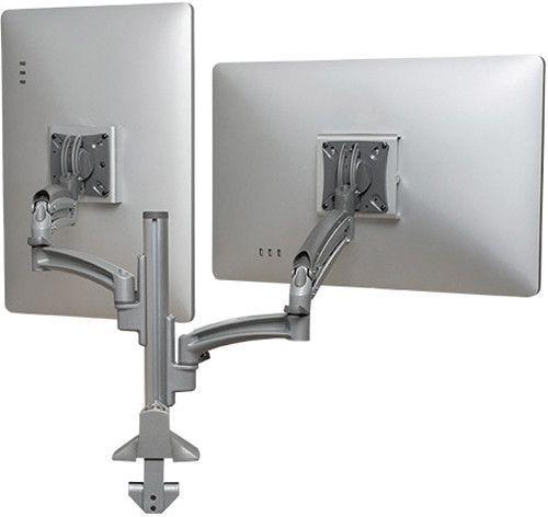 Chief® Kontour™ Silver K1C Dual Monitor Reduced Height Dynamic Column Mount-K1C220SXRH