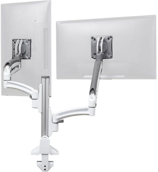 Chief® Kontour™ White K1C Dual Monitor Reduced Height Dynamic Column Mount-K1C220WXRH