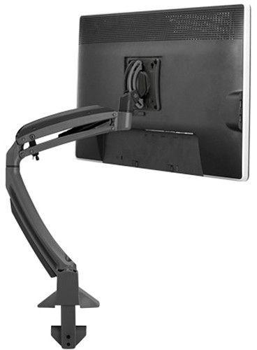 Chief® Kontour™ Black K1D Dynamic Height-Adjustable Desk Clamp Mount-K1D120BXDL