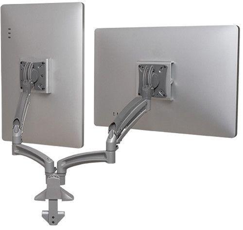 Chief® Kontour™ Silver K1D Dual Monitor Reduced Height Dynamic Desk Mount-K1D220SXRH