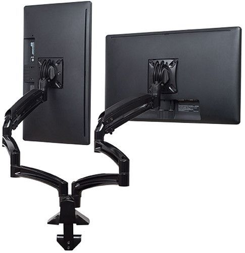 Chief® Kontour™ Black K1D Dual Monitor Dynamic Desk Mount-Extended Reach-K1D230B