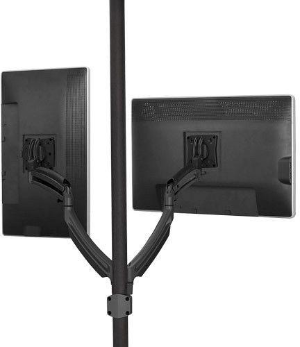 Chief® Kontour™ Black K1P 2 Monitors Dynamic Pole Mount-K1P220B