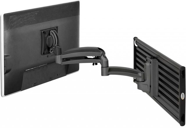 Chief® Kontour™ Black K1S 1 Monitor Dynamic Slatwall Mount-K1S120B