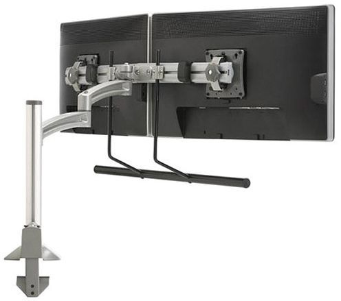 Chief® K2C Silver Dual Monitor Array Articulating Column Mount-K2C22HSXF1