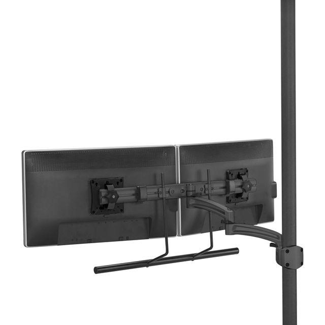 Chief® Kontour™ Black K2P Dual Monitor Array Dynamic Pole Mount-K2P22HB