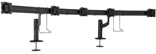 Chief® Kontour™ Black K4 5x1 Grommet Mounted Array-K4G510B