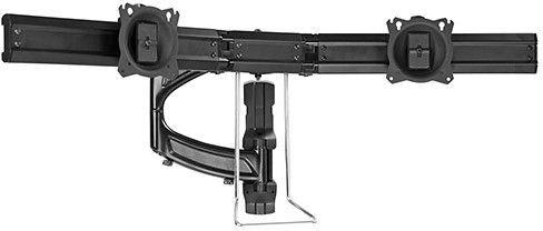 Chief® Kontour™ Black K4 2x1 Wall Mounted Focal Depth Adjustable Array-K4W210B
