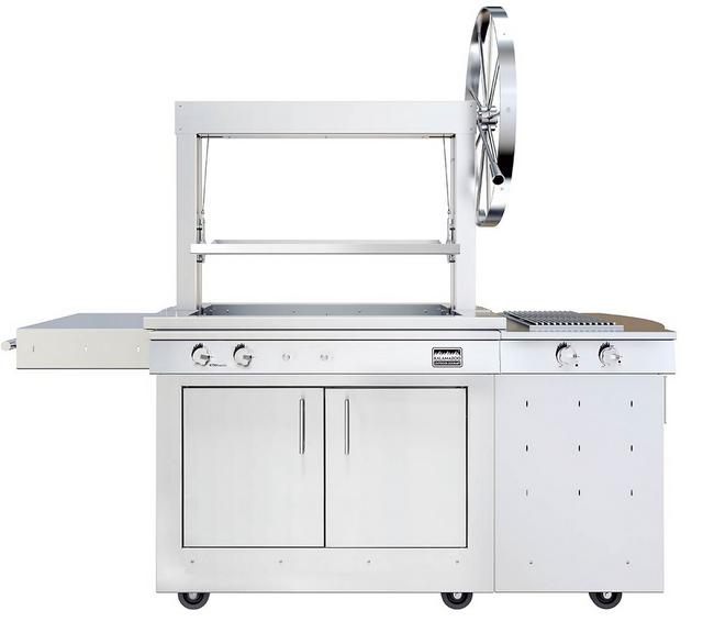 Kalamazoo Outdoor Gourmet Freestanding Grill-Stainless Steel-K750GS