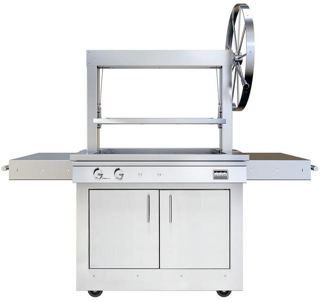 Kalamazoo Outdoor Gourmet Freestanding Grill-Stainless Steel-K750GT