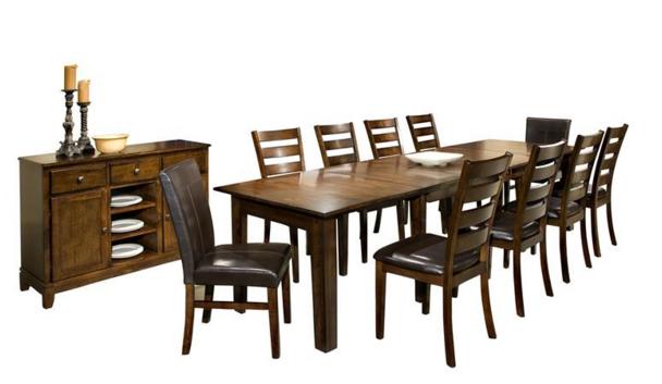 Intercon Kona Collection Dining Room Ultra Expansion Table Top-KA-TA-38130-RAI-TOP