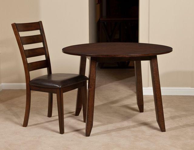Intercon Kona Drop Leaf Dining Table-KA-TA-4242D-RAI-C