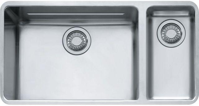 "Franke Kubus 33"" Undermount Kitchen Sink-Stainless Steel-KBX160"