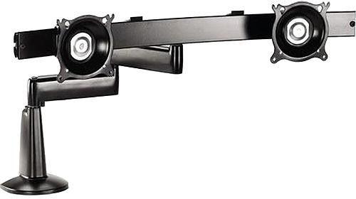 Chief® Black Dual Arm Dual Monitor Desk Mount-KCD220B